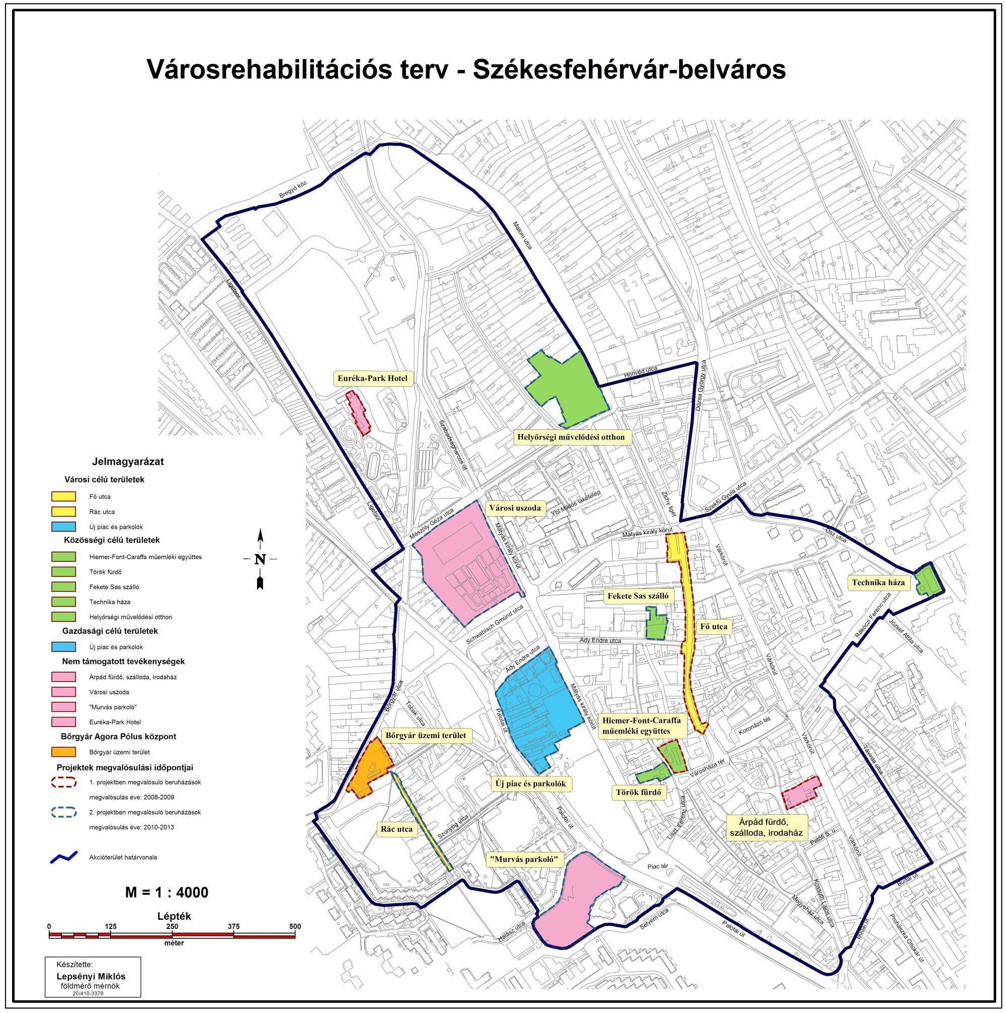 Szekesfehervar Mjv Polgardi Integralt Varosfejlesztesi